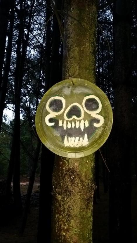 Scary Totems in the woods! What did they do?